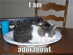 I am  adorabowl.