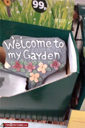 Gayden, where the pansies grow!
