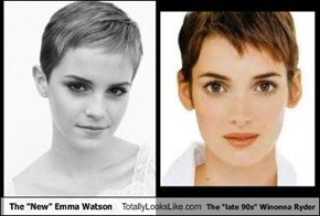 "The ""New"" Emma Watson Totally Looks Like The ""late 90s"" Winonna Ryder"