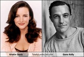 Kristin Davis Totally Looks Like Gene Kelly