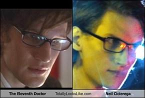 The Eleventh Doctor Totally Looks Like Neil Cicierega