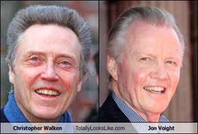 Christopher Walken Totally Looks Like Jon Voight
