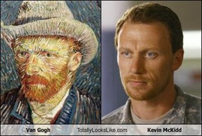 Van Gogh Totally Looks Like Kevin McKidd