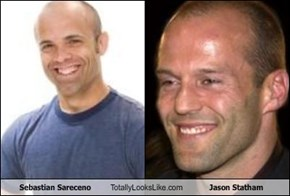 Sebastian Sareceno Totally Looks Like Jason Statham