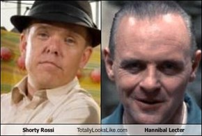 Shorty Rossi Totally Looks Like Hannibal Lecter