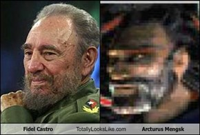 Fidel Castro Totally Looks Like Arcturus Mengsk