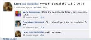 A Joke Without A Proper Punchline Is Like Her Head: Empty