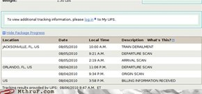 Package May Be Delayed