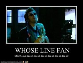 WHOSE LINE FAN
