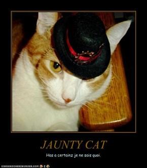 JAUNTY CAT