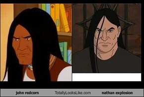 john redcorn Totally Looks Like nathan explosion