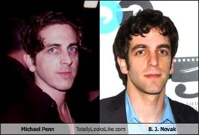 Michael Penn Totally Looks Like B. J. Novak