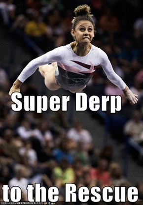 Super Derp   to the Rescue