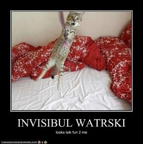 INVISIBUL WATRSKI