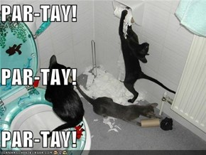 PAR-TAY! PAR-TAY! PAR-TAY!