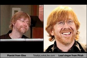 Pianist from Glee Totally Looks Like Lead singer from Phish