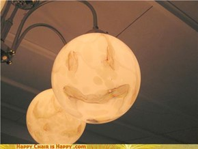 Happy lamp is glad you took a picture!