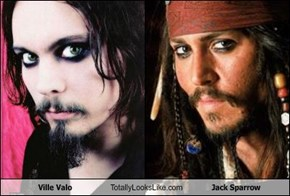 Ville Valo Totally Looks Like Jack Sparrow