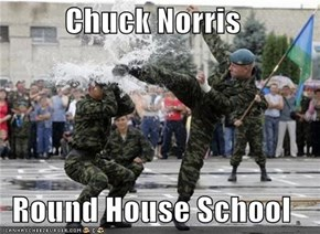 Chuck Norris  Round House School