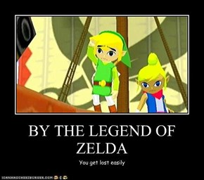 BY THE LEGEND OF ZELDA