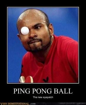 ping pong eyepatch