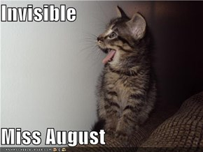 Invisible  Miss August
