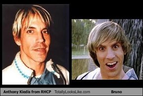 Anthony Kiedis from RHCP Totally Looks Like Bruno