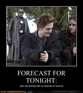 FORECAST FOR TONIGHT: