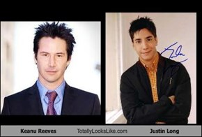Keanu Reeves Totally Looks Like Justin Long