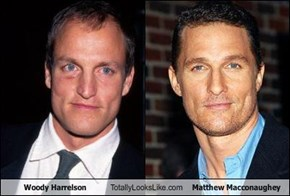 Woody Harrelson Totally Looks Like Matthew Macconaughey