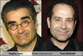 Eugene  Levy Totally Looks Like Tony Shalhoub