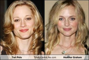 Teri Polo Totally Looks Like Heather Graham