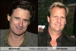 Bill Pullman Totally Looks Like Jeff Daniels