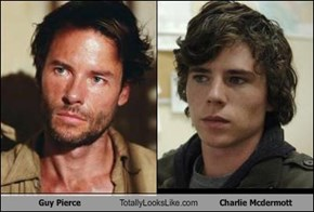 Guy Pierce Totally Looks Like Charlie Mcdermott