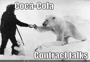 Coca-Cola                     Contract talks