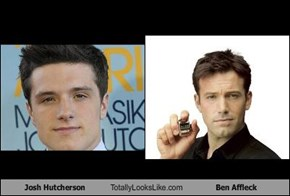 Josh Hutcherson Totally Looks Like Ben Affleck