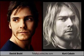 Daniel Bruhl Totally Looks Like Kurt Cobain