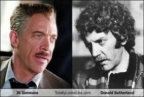 JK Simmons Totally Looks Like Donald Sutherland