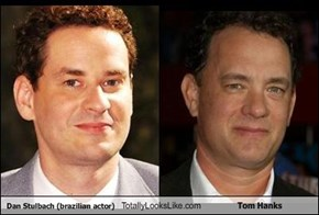Dan Stulbach (brazilian actor) Totally Looks Like Tom Hanks