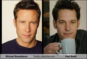 Michael Rosenbaum Totally Looks Like Paul Rudd