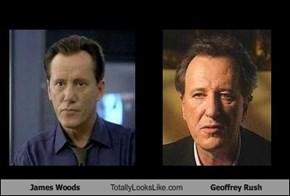 James Woods Totally Looks Like Geoffrey Rush
