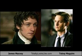 James Macvoy Totally Looks Like Tobey Maguire