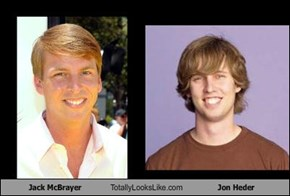 Jack McBrayer Totally Looks Like Jon Heder