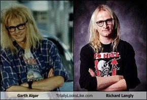 Garth Algar Totally Looks Like Richard Langly