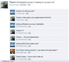 Classic: Titanic Trash Talk