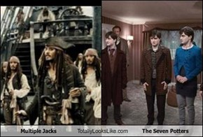 Multiple Jacks Totally Looks Like The Seven Potters
