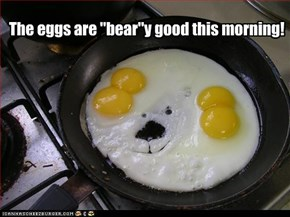 Beary Good Eggs
