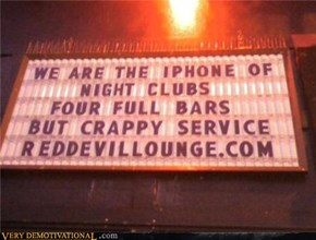 Crappy Service