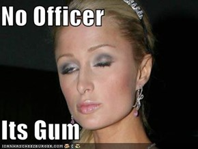 No Officer  Its Gum