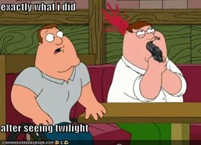 exactly what i did  after seeing twilight